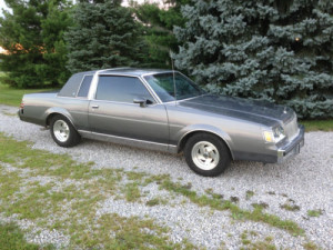 1984 buick regal limited coupe 2 door 3 8l v6 delaware. Black Bedroom Furniture Sets. Home Design Ideas