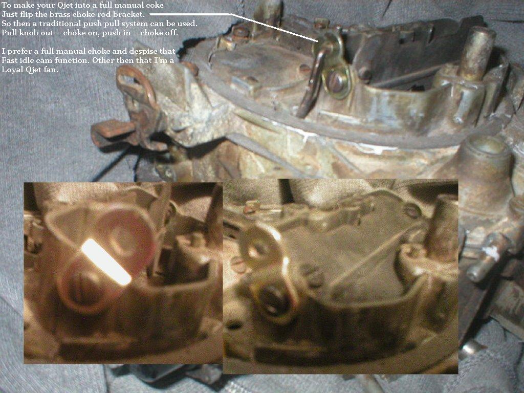 E2se Carb  Manual Choke Project